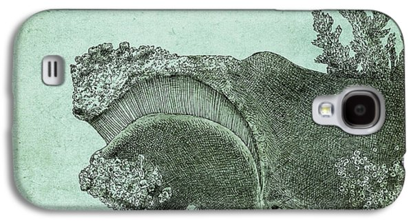 Ink Drawings Galaxy S4 Cases - Leviathan Galaxy S4 Case by Eric Fan