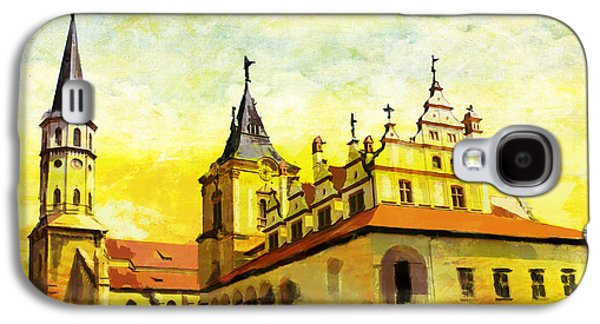 Museum Paintings Galaxy S4 Cases - Levoca Spissky Hrad and the Associated Cultural Monuments Galaxy S4 Case by Catf