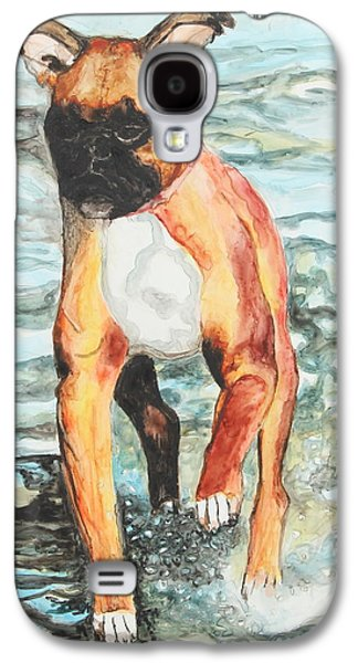 Puppies Galaxy S4 Cases - Leyla Galaxy S4 Case by Jeanne Fischer
