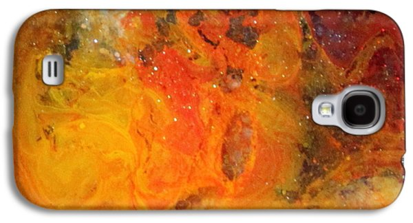Splashy Paintings Galaxy S4 Cases - Lg1001 Galaxy S4 Case by Kathleen Fowler