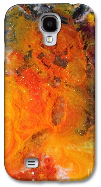 Splashy Paintings Galaxy S4 Cases - Liselle Galaxy S4 Case by Kathleen Fowler