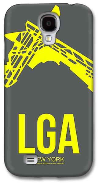 News Mixed Media Galaxy S4 Cases - LGA New York Airport 1 Galaxy S4 Case by Naxart Studio