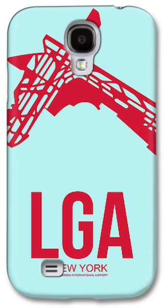 News Mixed Media Galaxy S4 Cases - LGA New York Airport 2 Galaxy S4 Case by Naxart Studio