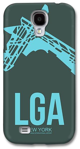 News Mixed Media Galaxy S4 Cases - LGA New York Airport 3 Galaxy S4 Case by Naxart Studio