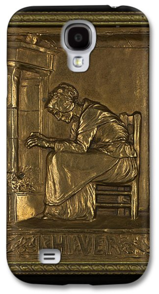People Sculptures Galaxy S4 Cases - LHIVER  Winter Galaxy S4 Case by Marcel Debut