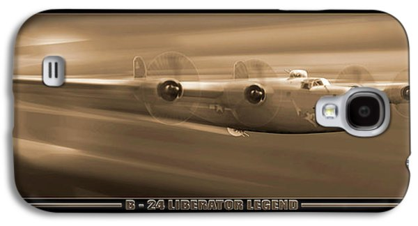 Warbird Galaxy S4 Cases - Liberator Legend Galaxy S4 Case by Mike McGlothlen