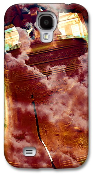 4th July Galaxy S4 Cases - Liberty Bell 3.1 Galaxy S4 Case by Stephen Stookey
