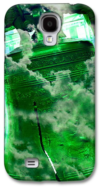 4th July Galaxy S4 Cases - Liberty Bell 3.3 Galaxy S4 Case by Stephen Stookey