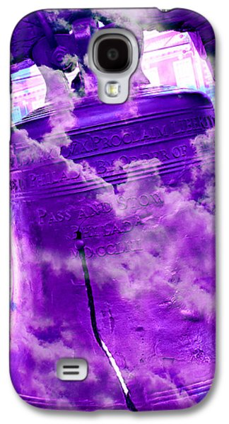 4th July Galaxy S4 Cases - Liberty Bell 3.4 Galaxy S4 Case by Stephen Stookey