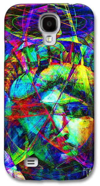 4th July Galaxy S4 Cases - Liberty Head Abstract 20130618 Galaxy S4 Case by Wingsdomain Art and Photography