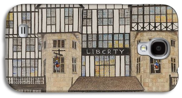 Liberty Galaxy S4 Cases - Liberty Ii, 1988 Watercolour On Paper Galaxy S4 Case by Gillian Lawson