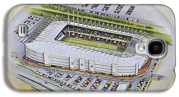 Art Mobile Galaxy S4 Cases - Liberty Stadium - Swansea City Galaxy S4 Case by D J Rogers