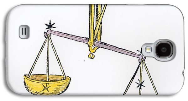 Libra An Illustration From The Poeticon Galaxy S4 Case by Italian School