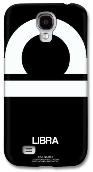 Virgo Galaxy S4 Cases - Libra Zodiac Sign White Galaxy S4 Case by Naxart Studio