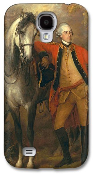 Posters On Paintings Galaxy S4 Cases - Lieutenant General Edward Ligonier Galaxy S4 Case by Thomas Gainsborough