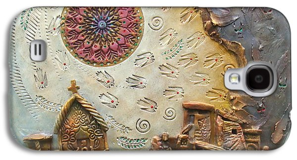 Bas Relief Reliefs Galaxy S4 Cases - Life along the fault line Galaxy S4 Case by Gary Wilson