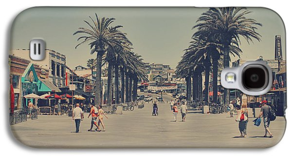 California Beach Galaxy S4 Cases - Life in a Beach Town Galaxy S4 Case by Laurie Search