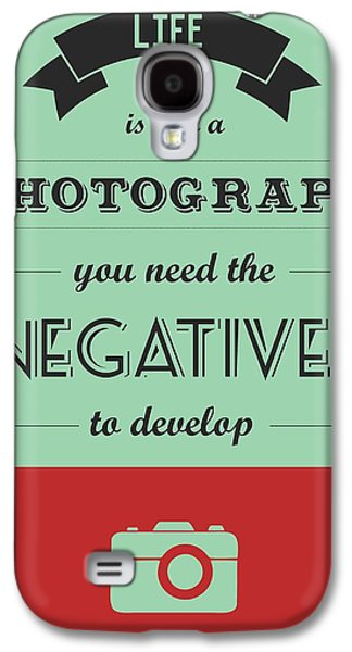 Reality Galaxy S4 Cases - Life Inspirational Quotes typography Galaxy S4 Case by Lab No 4 - The Quotography Department
