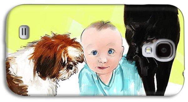 Puppy Digital Galaxy S4 Cases - Life is short Galaxy S4 Case by Richard Okun
