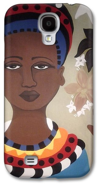 African-americans Tapestries - Textiles Galaxy S4 Cases - Life is what you make it-Sold Galaxy S4 Case by Denise D Cooper
