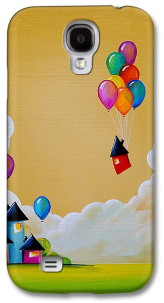 Whimsy Galaxy S4 Cases - Life Of The Party Galaxy S4 Case by Cindy Thornton