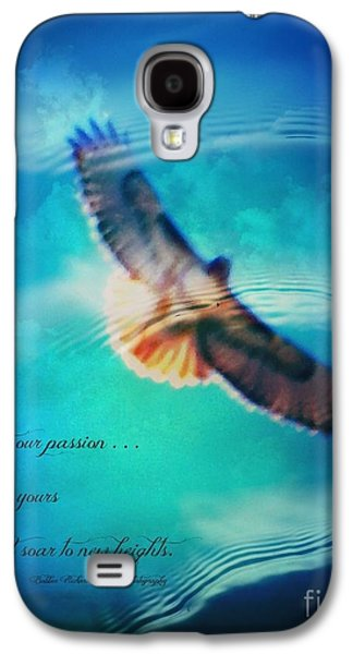 Matting Galaxy S4 Cases - Life Reflects Our Passion Galaxy S4 Case by Bobbee Rickard