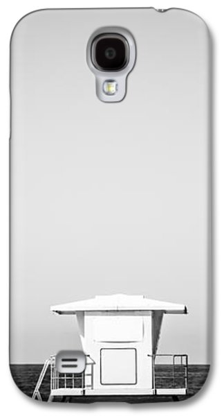 Beach Photography Galaxy S4 Cases - Lifeguard Tower Vertical  Panoramic Picture Galaxy S4 Case by Paul Velgos