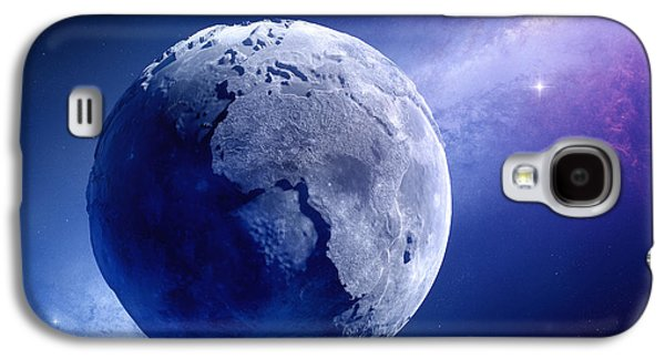 Earth Galaxy S4 Cases - Lifeless Earth Galaxy S4 Case by Johan Swanepoel
