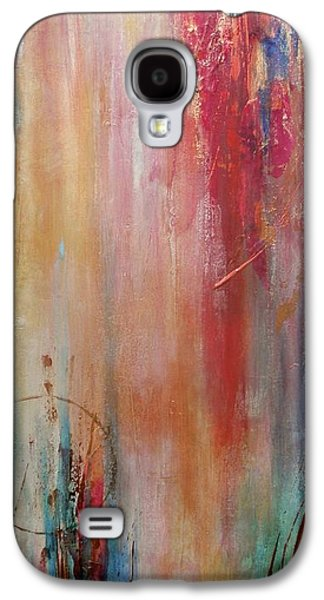 Free Mixed Media Galaxy S4 Cases - Lifted Spirits Galaxy S4 Case by Debi Starr