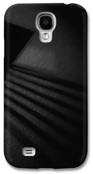 Painter Photo Mixed Media Galaxy S4 Cases - Light and Shadows Galaxy S4 Case by Jimi Bush
