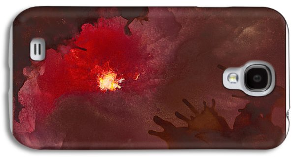 Abstract Digital Paintings Galaxy S4 Cases - Light at the End of the Tunnel Galaxy S4 Case by Craig Tinder
