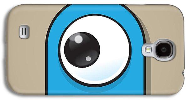 Eye-catching Galaxy S4 Cases - Light Blue Galaxy S4 Case by Samuel Whitton