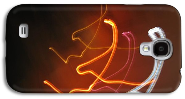 Self Discovery Galaxy S4 Cases - Light Drawing. I..i..i... Galaxy S4 Case by Ausra Paulauskaite