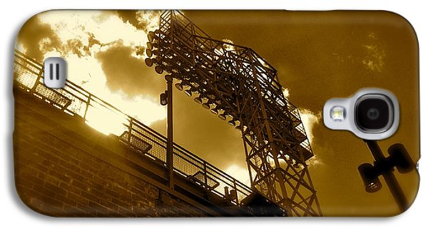 Red Sox Art Galaxy S4 Cases - Light  Fenway Park Galaxy S4 Case by Iconic Images Art Gallery David Pucciarelli