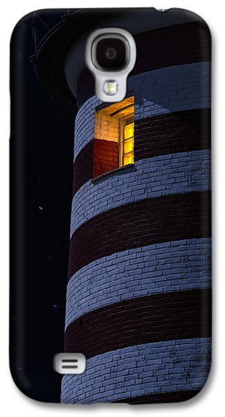 Maine Lighthouses Galaxy S4 Cases - Light From Within Galaxy S4 Case by Marty Saccone