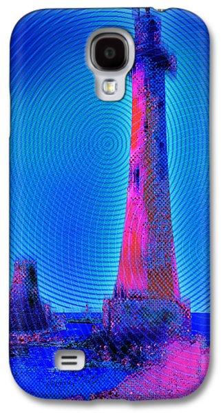 Interior Scene Mixed Media Galaxy S4 Cases - Light House At Sunrise 2 Galaxy S4 Case by Tony Rubino