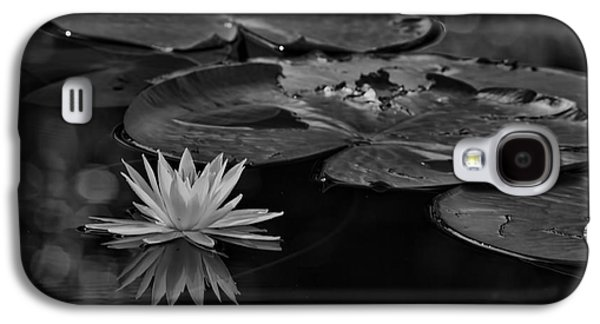 Lilly Pad Galaxy S4 Cases - Light In The Darkness Galaxy S4 Case by Deborah Benoit