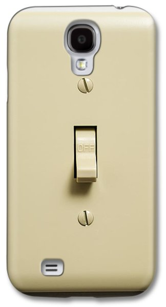 Electrical Component Photographs Galaxy S4 Cases - Light Switch Galaxy S4 Case by Donald  Erickson