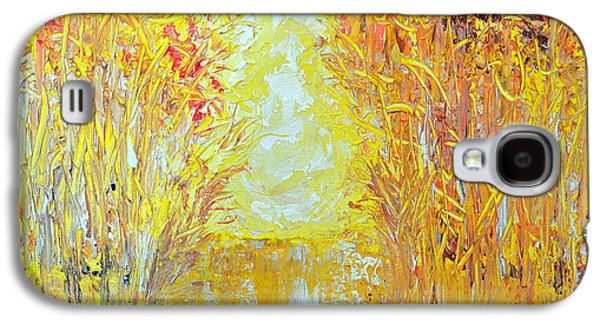 Surreal Landscape Galaxy S4 Cases - Light through the Trees Galaxy S4 Case by Donna Mann