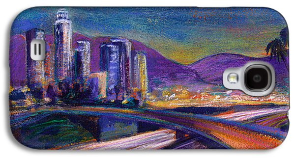 Night Scene Galaxy S4 Cases - Light Up The Night Galaxy S4 Case by Athena Mantle