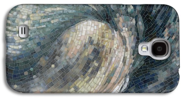 Mosaic Galaxy S4 Cases - Light Wave  Galaxy S4 Case by Mia Tavonatti