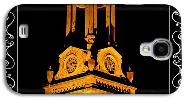 Fantasy Photographs Galaxy S4 Cases - Lighted Architecture At Night Galaxy S4 Case by Constance Lowery