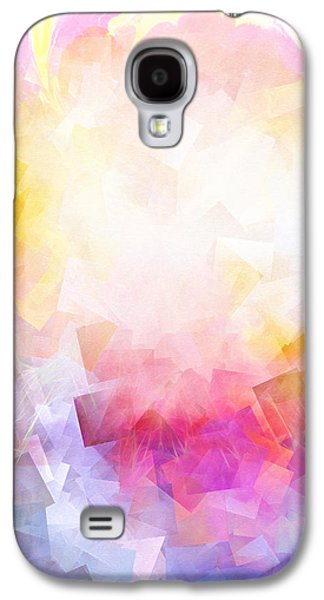 Abstract Digital Mixed Media Galaxy S4 Cases - Lightforces Artwork Galaxy S4 Case by Lutz Baar