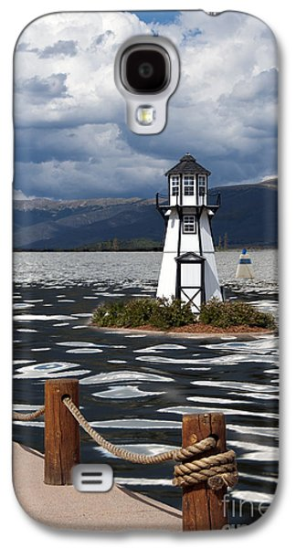 Building Exterior Galaxy S4 Cases - Lighthouse in Lake Dillon Galaxy S4 Case by Juli Scalzi