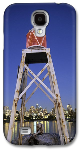 Burrard Inlet Galaxy S4 Cases - Lighthouse in Vancouver  Canada Galaxy S4 Case by Ryan Fox