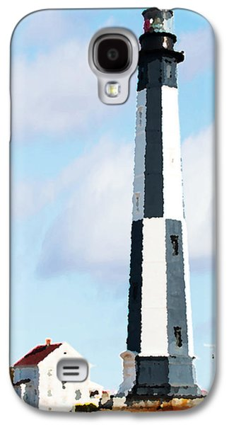 Buildings By The Ocean Galaxy S4 Cases - Lighthouse Living - New Cape Henry Lighthouse Galaxy S4 Case by Gregory Ballos