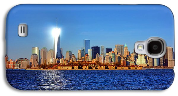 Lighthouse Manhattan Galaxy S4 Case by Olivier Le Queinec