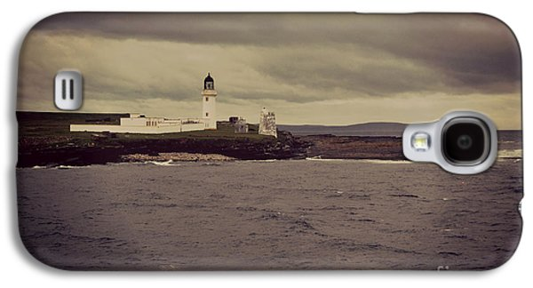 Waterscape Pyrography Galaxy S4 Cases - Scottish Lighthouse  Galaxy S4 Case by Miryam  UrZa