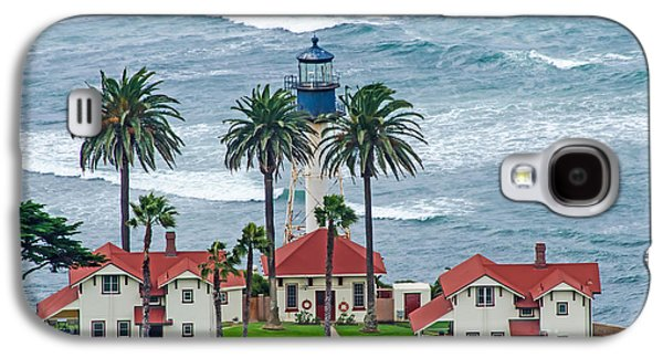 Keith Ducker Galaxy S4 Cases - Lighthouse on Point Galaxy S4 Case by Baywest Imaging