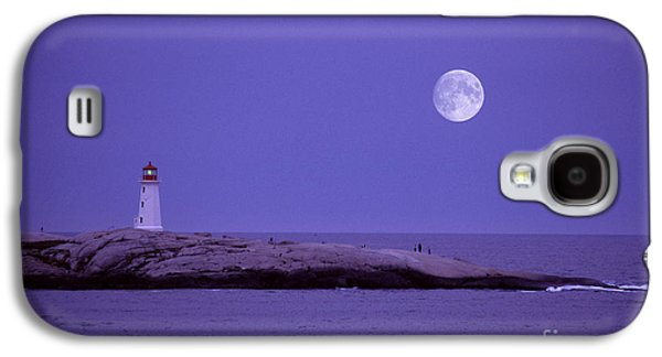 Waterscape Galaxy S4 Cases - Lighthouse, Peggys Cove Galaxy S4 Case by Novastock
